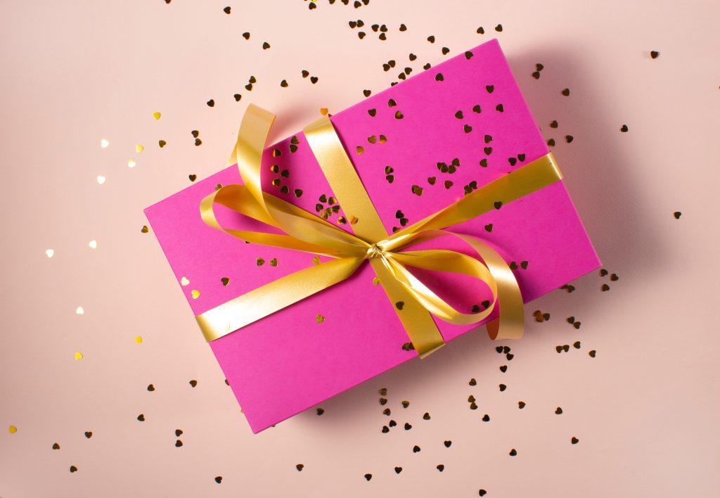 プレゼント香水ボックス