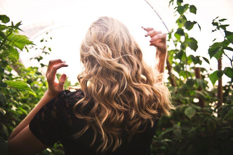 良い香りのする髪の毛